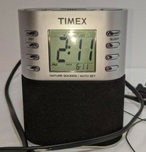 Timex Model T308S Alarm Clock With Nature Sounds Dual Alarms Chime Ocean... - $19.79