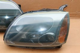 04-09 Mitsubish Galant Ralliart Projector Headlight Lamps Set L&R image 6