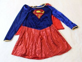 Girls DC Comics Rubies Supergirl 2 Piece Dressup Costume Sz Medium Halloween - $19.57