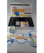 EUC Complete Simpsons TV Show Scene It Board Game Bart Homer Marge Lisa ... - $10.64