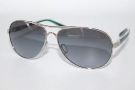 Oakley Feedback Sunglasses OO4079-26 Polished Chrome Frame W/ Blue Gradient Lens - $74.24