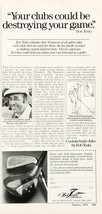 1979 Bob Toski Golf Clubs Print Ad Your Clubs Could Be Destroying Your Game - $10.69