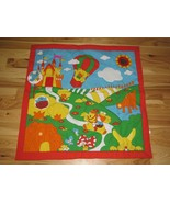 Baby Infant Play Tummy Time Activity Mat Large Big Jumbo Cloth Bright Co... - $49.49