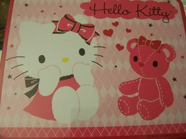 SANRIO Hello Kitty 100 Pc Puzzle in Metal Lunchbox Tin ~ Kitty with Pink... - $18.80