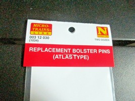 Micro-Trains Stock # 00312030 Replacement Bolster Pins (Atlas Type) N-Scale image 2