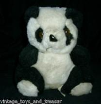 17.8cm Vintage Raffoler Panda Orsacchiotto Mom W 2 Bambino Orsetti Peluche - $30.73