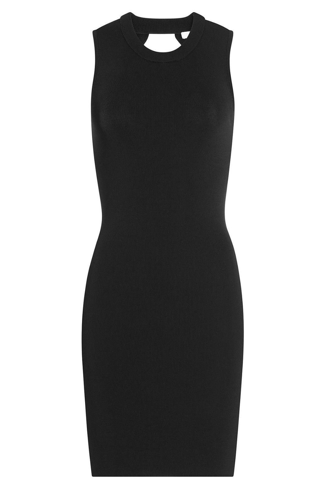 T BY ALEXANDER WANG Jersey Dress with Cut-Out Detail Medium $469.00