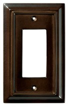 BRAINERD 126341 Wood Architectural Single Decorator Switch Wall Plate / ... - $13.81
