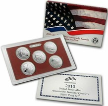 2010 Clad and Silver Proof America the Beautiful Sets CP3664 - $47.95