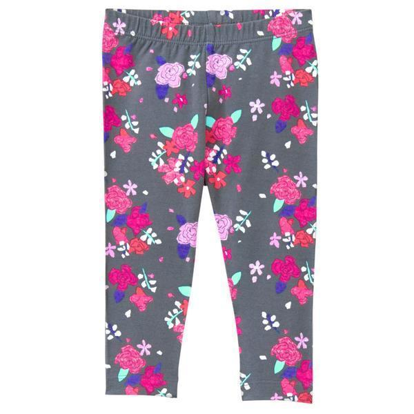 d2ac66b1af7d5 NWT Gymboree Girls Floral Gray Leggings Mix and 35 similar items