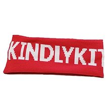 Knitting Headbands Wide Headband for Sports or Fashion, Red KINDLY