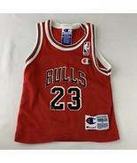 Vintage Chicago Bulls Champion Jersey Michael Jordan 23 Toddler 2T Baby ... - $119.99