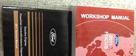 2011 Ford Focus Service Shop Repair Manual Set W Powertrain Control Book Pced - $207.85