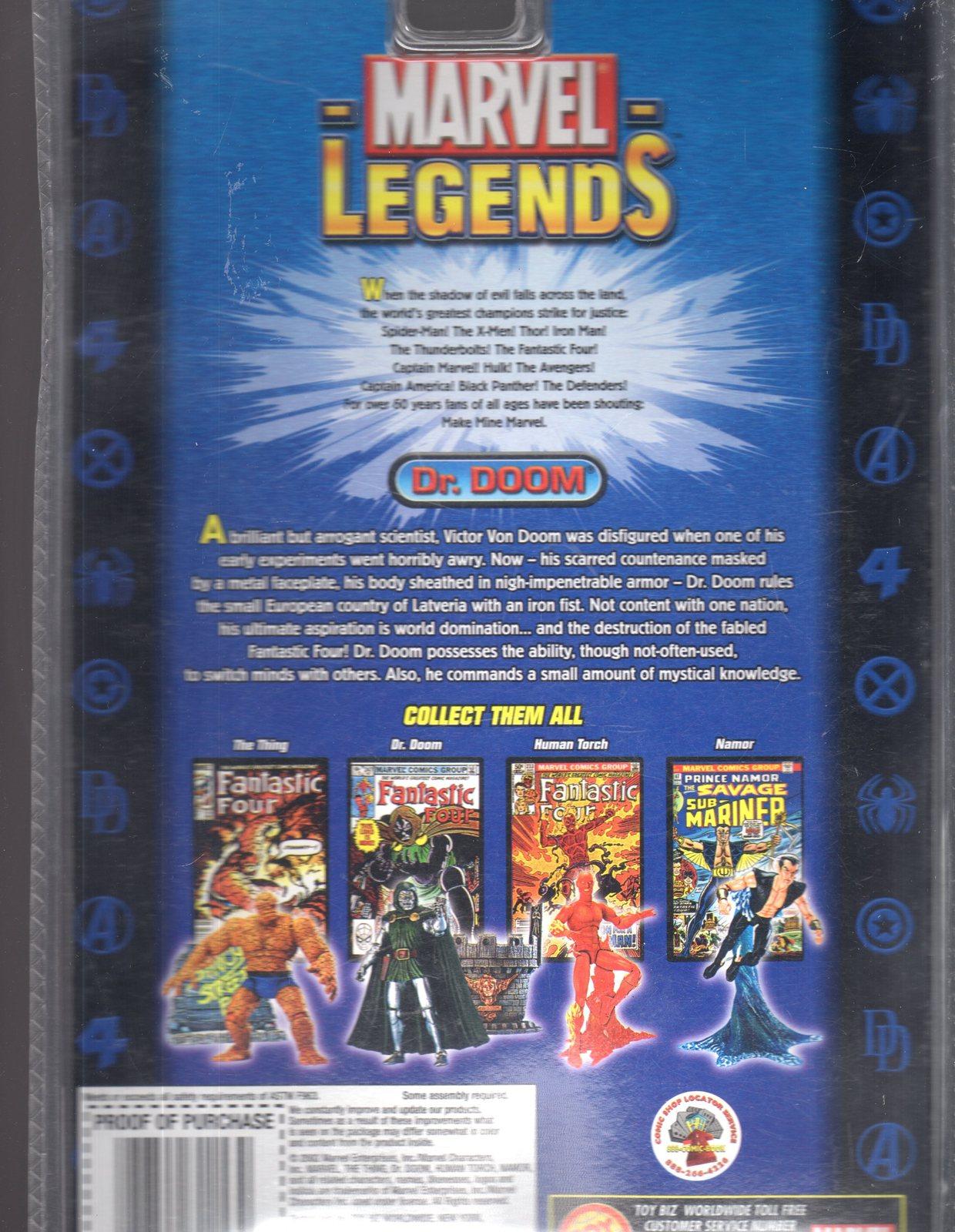 Marvel Legends Series II - DR. Doom (New)