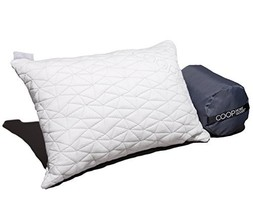 Camping and Travel Pillow with Bamboo Derived Viscose Rayon Cover - Adju... - $34.69