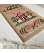 Lovely Home cross stitch chart Country Cottage Needleworks - $5.40