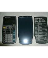 Texas Instrument Scientific Solar Calculator 10 digit W Hardcover TI-30X... - $14.99
