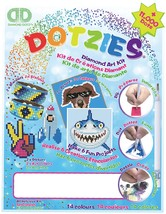 Diamond Dotz DOTZIES Variety Kit 6 Projects-Blue - $29.89