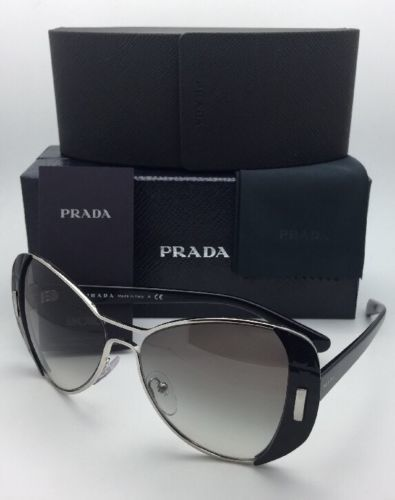 4ed2b94d700 New PRADA Sunglasses SPR 60S 1AB-0A7 55-16 and 45 similar items