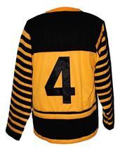 Custom # Hamilton Tigers Retro Hockey Jersey New Any Size image 2