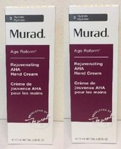 2 x Murad Youth Builder Rejuvenating AHA Hand Cream 75ml 2.65oz NEW BOX! - $20.78