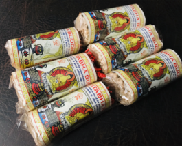 Amitabha Buddha Tibetan  Rope Incense: Set of Six Herbal Rope Incense - $6.68