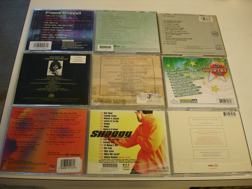 6 Like-Brand-New CDs !