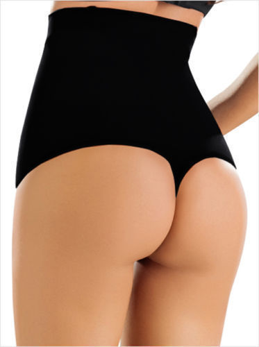 01411ef7f6cf2 S l1600. S l1600. Previous. High Waist Control Thong Body Shaper Briefs G-String  Tummy Girdle Slim Shapewear
