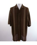 Syllables Lightweight Sheer Button Front Shirt Mens Sz 2XL - $28.93