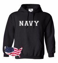 Navy Hoodie USAF Air Force US Army Marines USMC Military PT T-shirt - $23.95+