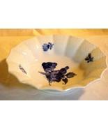 "Royal Copenhagen Blue Aster Flower Angular Soup Bowl 6 1/2"" - $39.68"