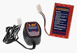 New Bright 9.6 Volt Power Charge Set Rechargeable NiCd Battery Pack / Ch... - $79.99
