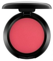 MAC Powder Blush Fard a Joues FRANKLY SCARLET Vivid Rose Red Matte .21oz... - $23.76