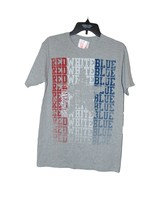 Red White And Blue Usa T-shirt Small Short Sleeve - $9.00