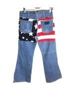 Spike & Elvis Fredericks Hollywood VTG Wrangler American Flag Jean JR 11... - $79.20