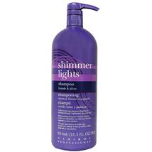 Shimmer Lights Blonde & Silver Shampoo, 31.5 oz
