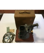 DeJur Model 750 Movie Projector With Case Tested Motor and Lamp Work - $60.00