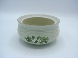 Vintage Christmas Heirloom by PFALTZGRAFF Sugar Bowl without the LID - $9.49