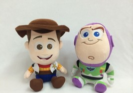 Lovely Toy Story Woody Buzz Lightyear Plush Soft Doll 7''/18cm Tall set ... - $14.84