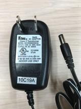 Ktec KA12D090020024U AC Power Supply Adapter Charger Output: 9V DC 200mA... - $6.99
