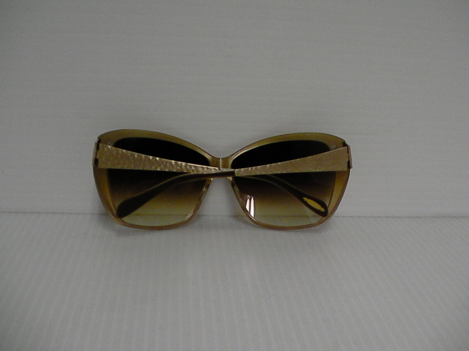 Womens OLIVER PEOPLES NEW SUNGLASSES SKYLA HAMMERED GOLD AMBER LENSE image 5