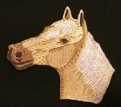 BeyondVision Custom and Unique Horse Face [Palomino Horse Face ] Embroid... - $7.91