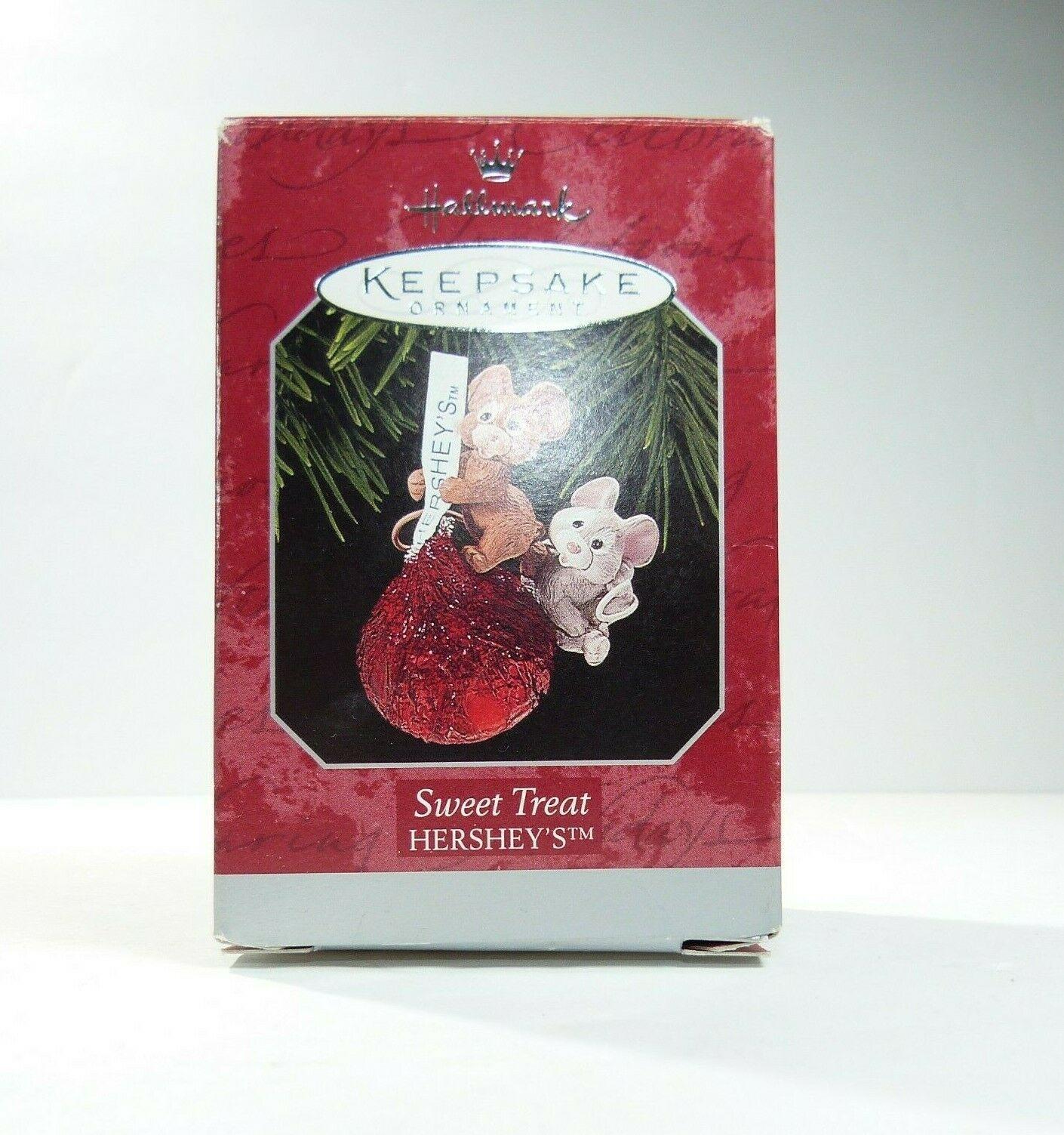 1998 Hershey Sweet Treat Hallmark Keepsake Ornament - MIB