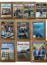 Rough Notes Magazines 2019-2020 10 Issues Lot - $23.36