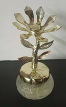 Vintage 1970's Avon Keepsake Flower Bird of Paradise Cream Sachet Empty - $14.99
