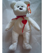 Ty Beanie Baby Valenletino Style 4058 Bear 1994 Tush Tag Error - $6.99