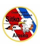 US Coast Guard Sitka Alaska Sticker - $9.89