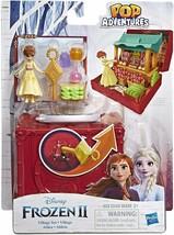 New Hasbro Disney Frozen Pop Adventures Village Set Pop-Up Playset with ... - $15.99