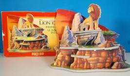 Puzz-3D The Lion King Pride Rock Foam Puzzle 2 Missing Pieces Wrebbit 1994 - $36.11