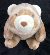 "GUND 10"" Snuffles Bear Brown Tan Plush Off White Cream Stuffed Animal - $29.02"